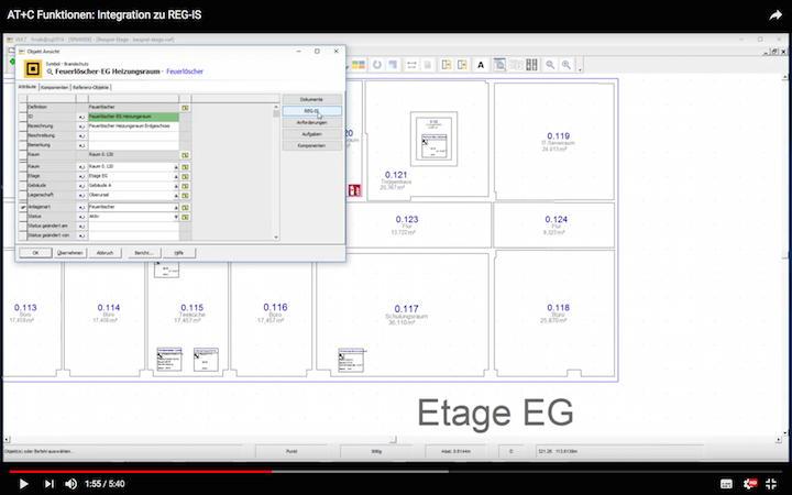 Ein Klick auf die REG-IS Schaltfläche, schon erfolgt der Sprung aus AT+C VR.7 zur Regelwerke-Sammlung