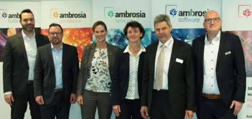 Ex-Schutz mit Experten: Dennis Diekmann, Thomas Schade und Eva Reckmann (ambrosia), Anke Sievers (Stadt Münster), Reinhard Kleiser (Mebedo) und Lars Nowara (ambrosia)