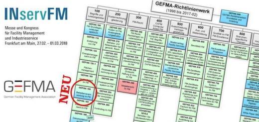 Zur Bundesfachtagung Betreiberverantwortung im Rahmen der INservFM 2018 stellt die GEFMA ihre überarbeitete Richtlinie 190 Betreiberverantwortung im FM vor