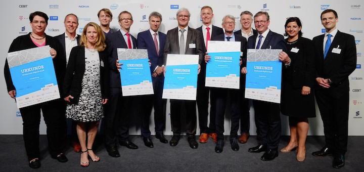 Die Finalisten aus Darmstadt, Heidelberg, Kaiserslautern, Paderborn und Wolfsburg – gewonnen hat Darmstadt
