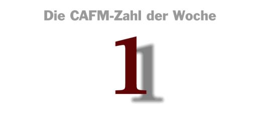 Die CAFM-Zahl der Woche ist die 1 – für genau eine Möglichkeit, Dokumente heimlich zu drucken