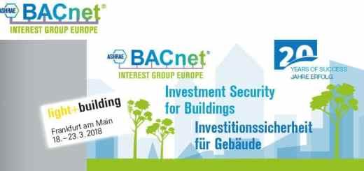 Die BACnet Interest Group Europe feiert auf der Light & Building ihr 20-jähriges Bestehen