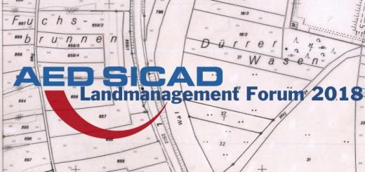 Das AED Sicad Landmanagement Forum 2018 findet am am 13., und 14. Juni in Bonn statt