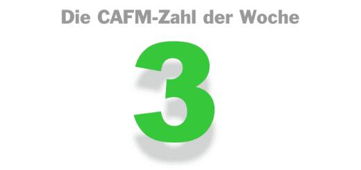Die CAFM-Zahl der Woche ist die 3, denn Google hat schon drei Mal gemeint, CAFM sei verschreibungspflichtige Medizin.