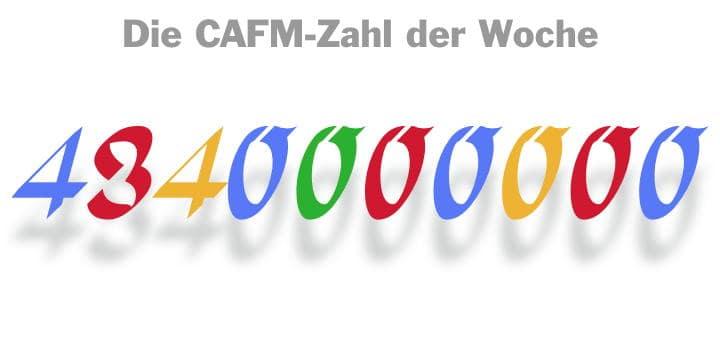 4,34 Milliarden Euro – so hoch ist die Strafe, die von der EU gegen Google wegen der Lizenzvorgaben für Android verhängt wurde