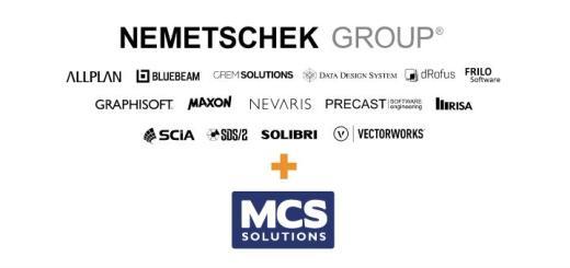 Firma Nummer 16: Nemetschek hat jetzt auch MCS Solutions übernommen