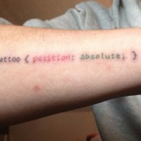 Ze tatouage geek