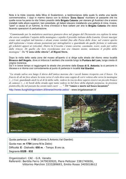Escursione sul Monte Zebio fg.2 18/09/2016