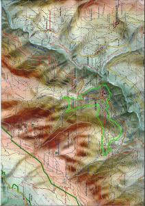 20 marzo Uscita CEMBRA-GRUMES mappa itinerario