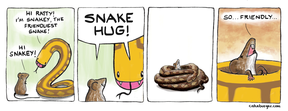 The Friendliest Snake