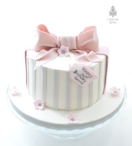 grey-pink-birthday-cake