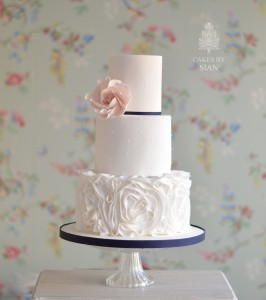 blush.pink.navy.wedding.cake