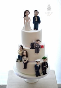 Figurine Wedding Cake