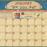 lisa-blowers-wall-calendar-2011