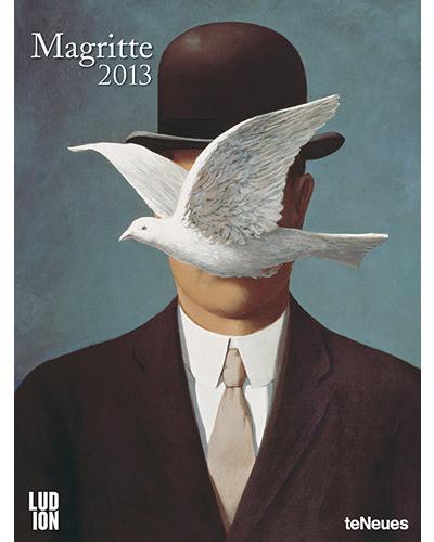 magritte surrealist poster calendar 2013