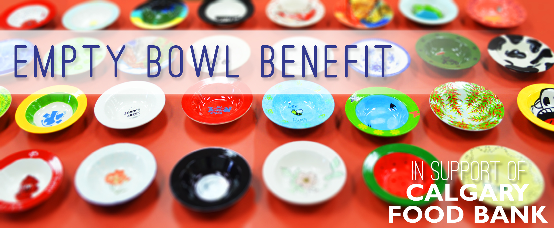 Empty Bowl Benefit Banner 2016