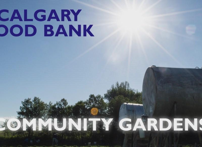 Thank you Community Gardens