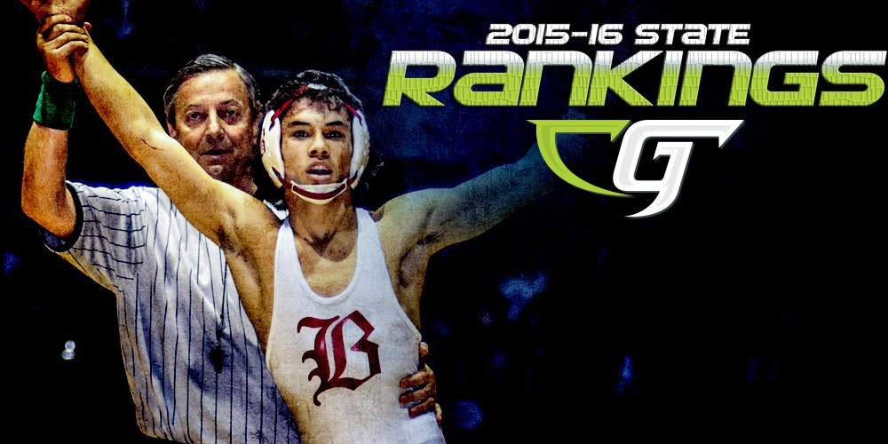 California Wrestling State Rankings 2015-16