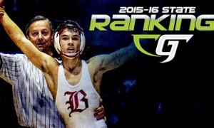 California Wrestling State Rankings 2015-16