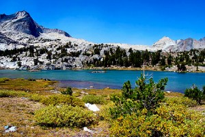Greenstone Lake, Twenty Lakes Basin (9/7/14) Alica Vennos