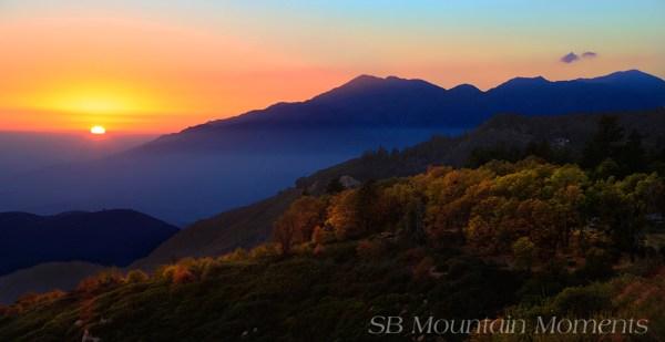 Autumn Sunset, San Bernardino Mountains (10/19/14) Nick Barnhart