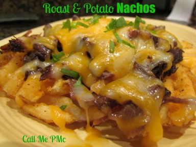 Roast and Potato Nachos #callmepmc