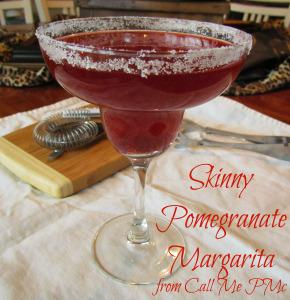 Skinny Pomegranate Margarita