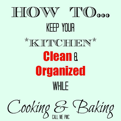 How to Keep Your Kitchen Clean and Organized  while cooking
