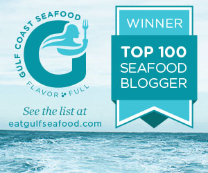 Top 100 Seafood Blogger by Gulf Coast Seafood 2013