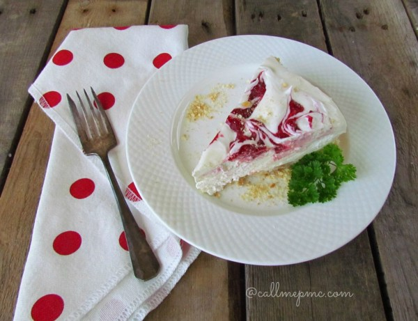 raspberry strawberry no-cook cheesecake #nocook #desserts #strawberry #raspberry