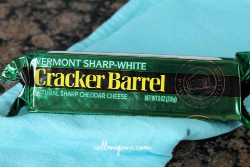 Cracker Barrel Cheese in Bacon Chicken Jalapeno Dip