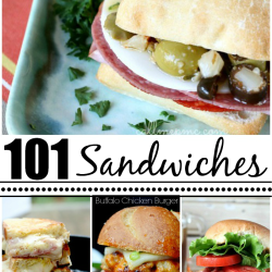 101 Favorite Sandwich Recipes