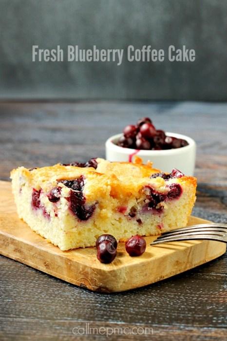 Fresh Blueberry Coffee Cake