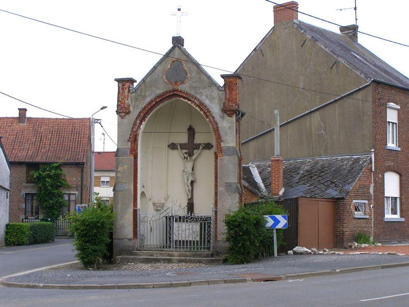 Calvaire rue Pasteur/ rue de Bavay