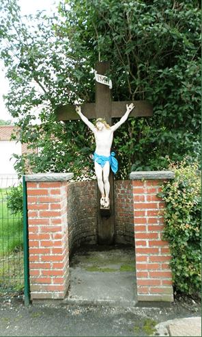 Calvaire au hameau de Lameries