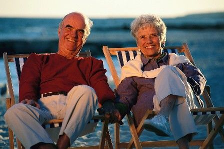 Retirees-on-Beach