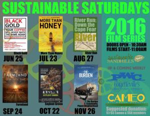 Sustaintable Saturdays