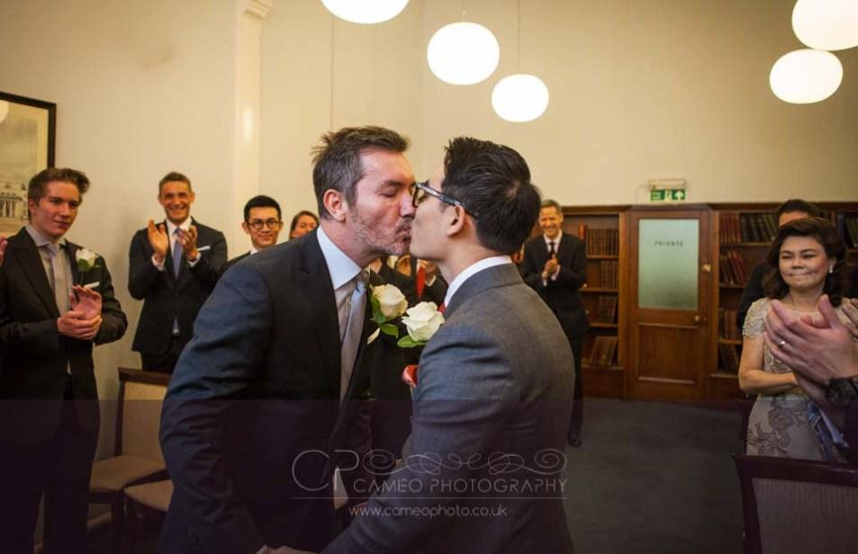 gay wedding photography london
