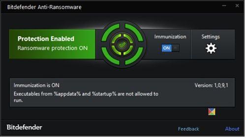 Bitdefender AntiCryptowall: Para protegerse contra el virus Cryptowall y otros virus ransomware