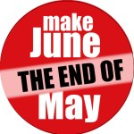 June end of may