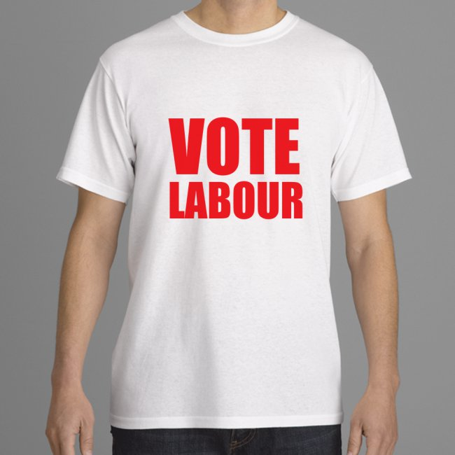 Vote Labour shirt