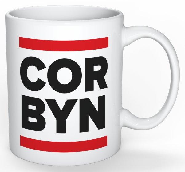 Corbyn mug front