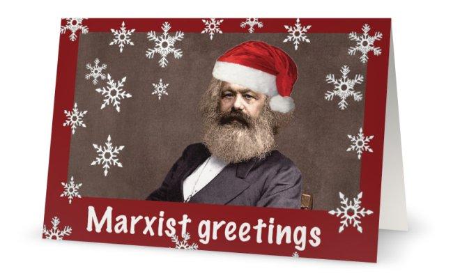 Marx card open