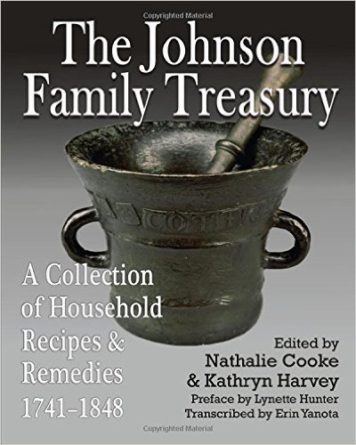 The Johnson Family Treasury: A Collection of Household Receipes & Remedies, edited by Nathalie Cooke + Kathryn Harvey