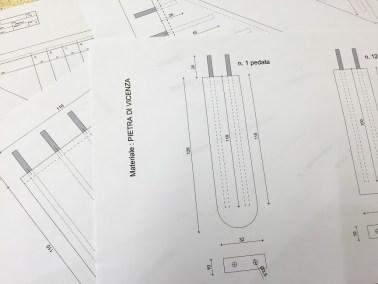 Scala a muro - progetti