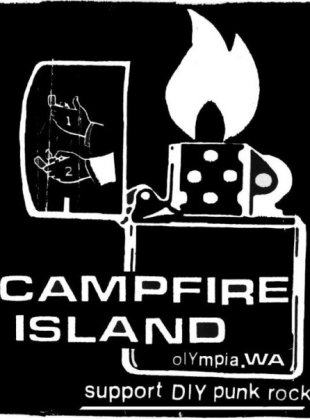 Campfire Island Lighter Logo