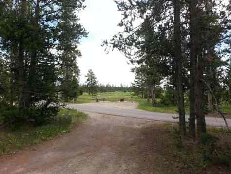 Baker S Hole Campground In West Yellowstone Montana Mt