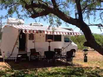 La Siesta Campgrounds Arivaca Arizona Az