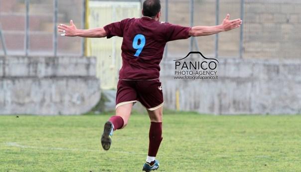 Puteolana, pareggio al fotofinish con il Bisceglie: del bomber Pastore il goal dell'1-1!