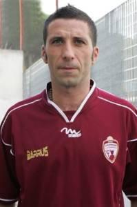 Chietti con la maglia della Puteolana nella stagione 2008-'09
